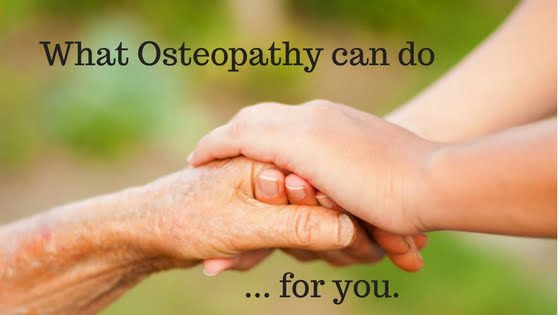 What Osteopaths do that the NHS doesn't.
